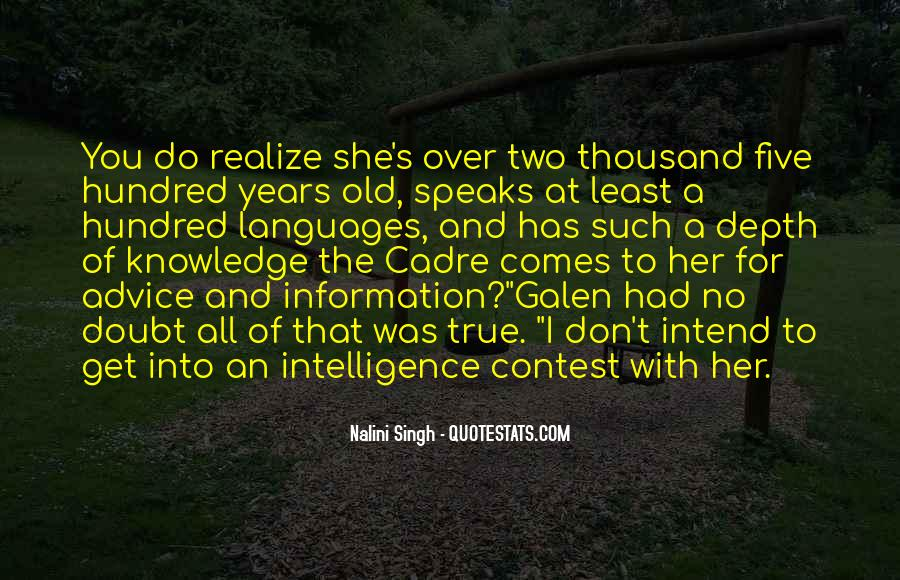 Quotes About Cadre #915126