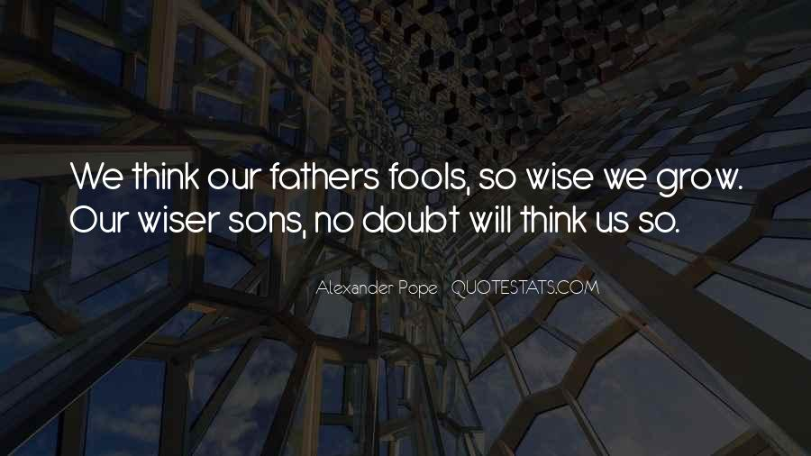 Quotes About Our Sons #902649