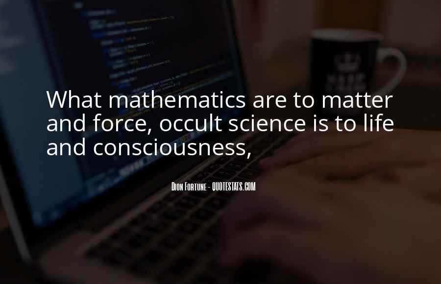 Quotes About Mathematics And Life #1596335