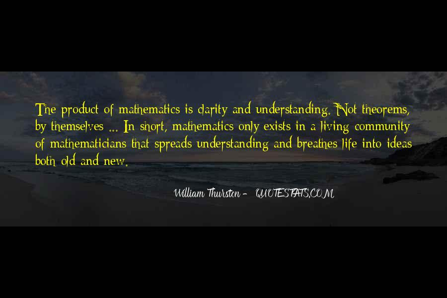 Quotes About Mathematics And Life #1762644