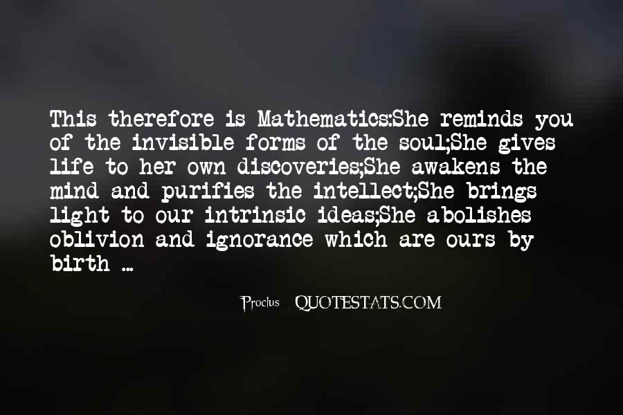Quotes About Mathematics And Life #248797