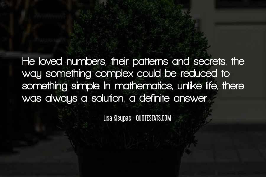 Quotes About Mathematics And Life #623163