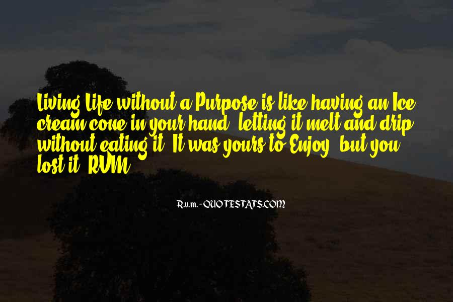 Quotes About Not Having A Purpose In Life #1160