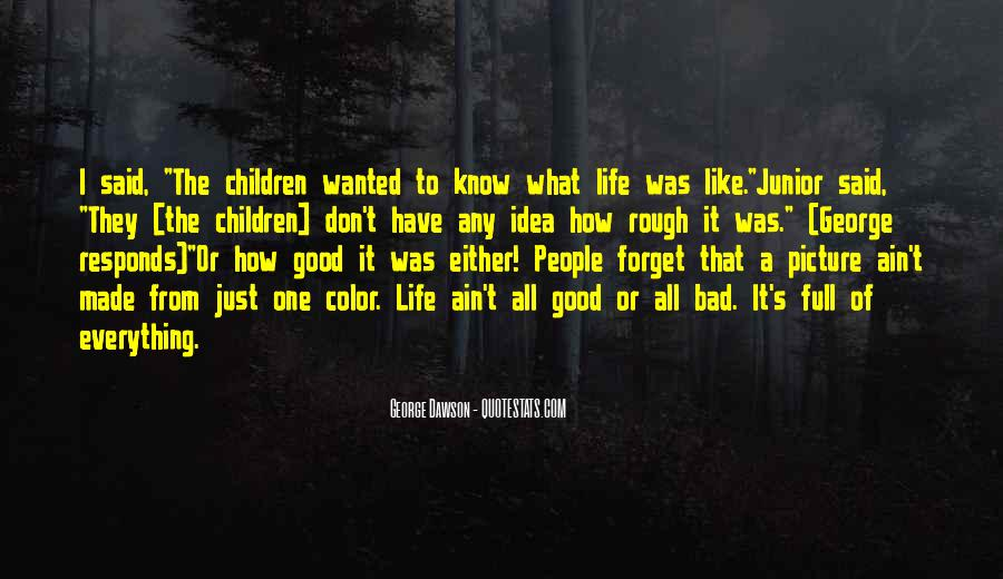 Quotes About A Rough Life #1039151