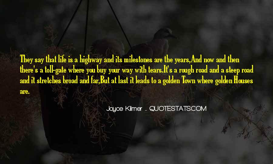Quotes About A Rough Life #1228197