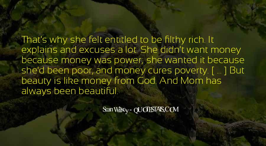 Quotes About Filthy Money #1520781