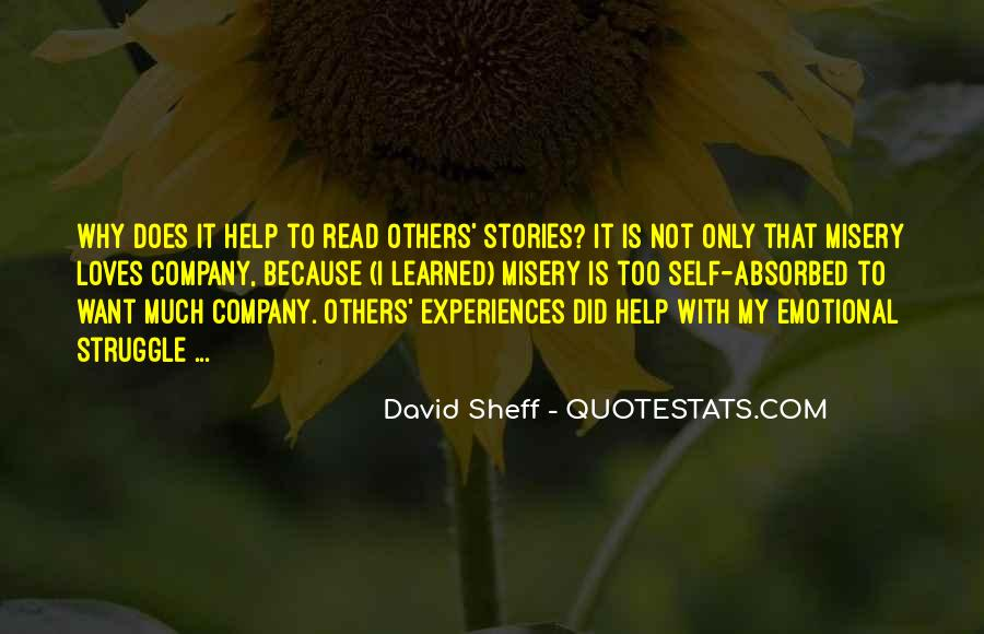 Quotes About Misery Loves Company #223143