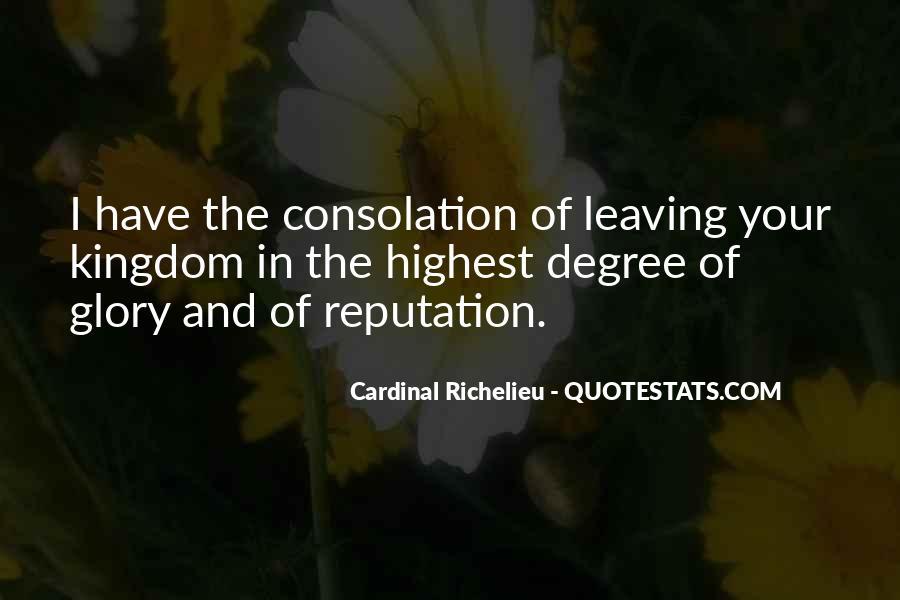 Quotes About Richelieu #1385232
