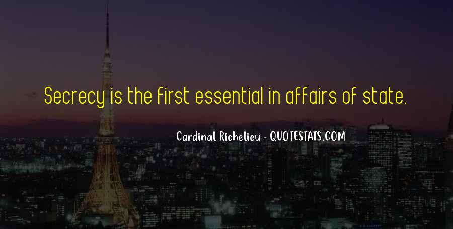 Quotes About Richelieu #1470587