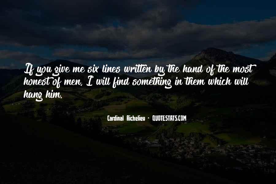 Quotes About Richelieu #1525198