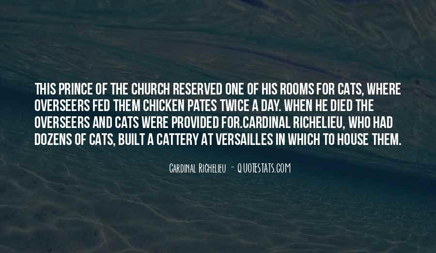 Quotes About Richelieu #1558682