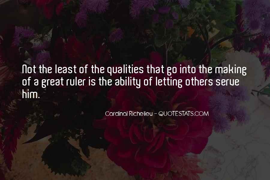 Quotes About Richelieu #1606120