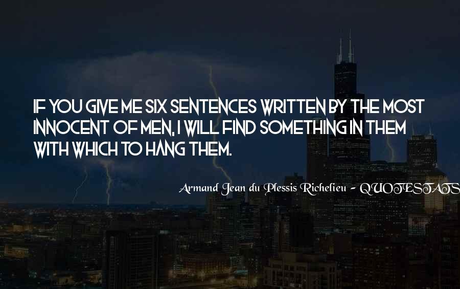 Quotes About Richelieu #175682