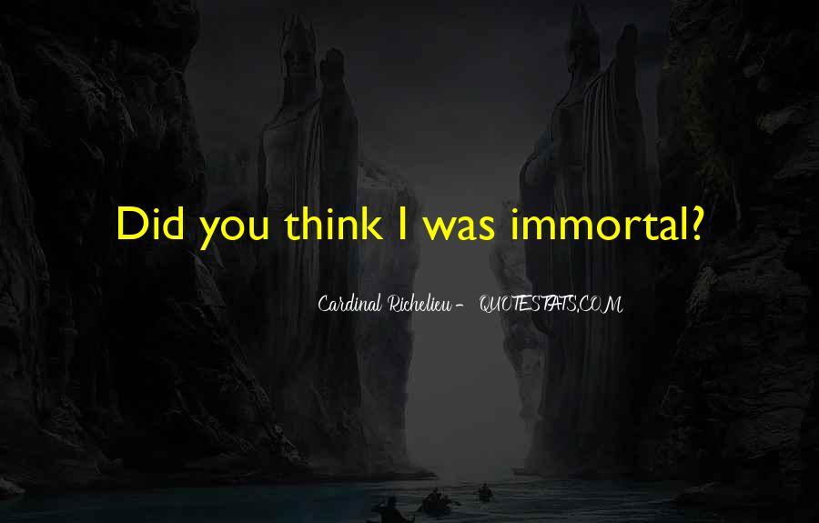 Quotes About Richelieu #1848487