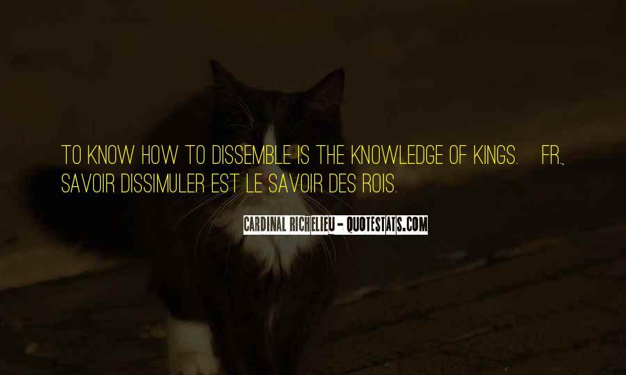 Quotes About Richelieu #1868751