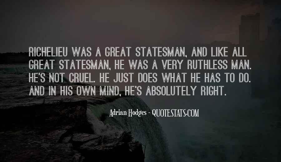 Quotes About Richelieu #489778