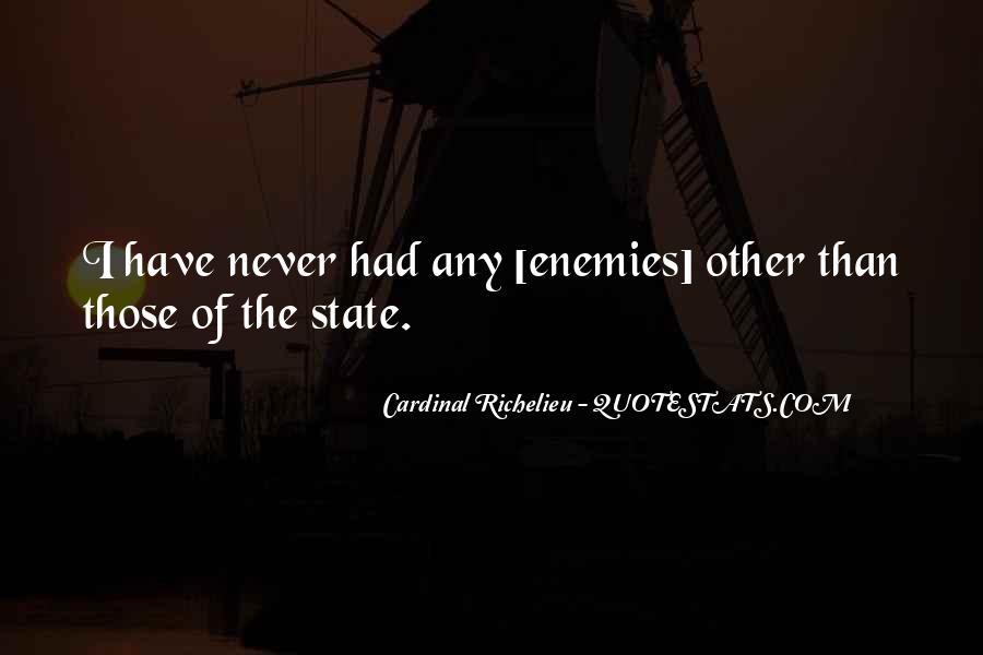 Quotes About Richelieu #57796