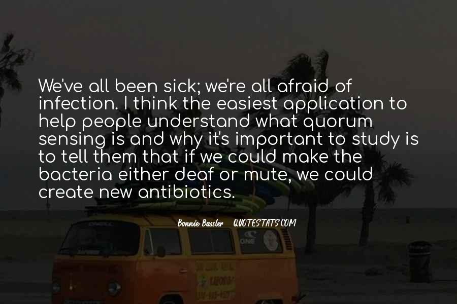 Quotes About Infection #198665