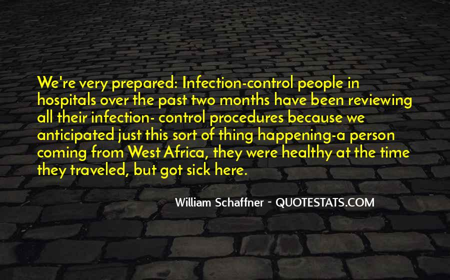 Quotes About Infection #287536