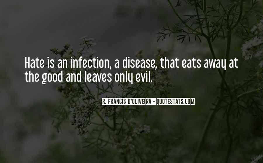 Quotes About Infection #328659