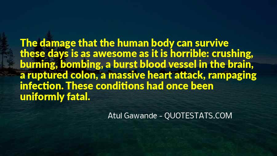 Quotes About Infection #418334