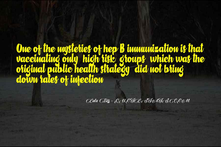 Quotes About Infection #700542