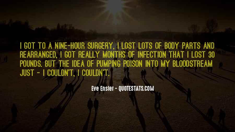 Quotes About Infection #93654