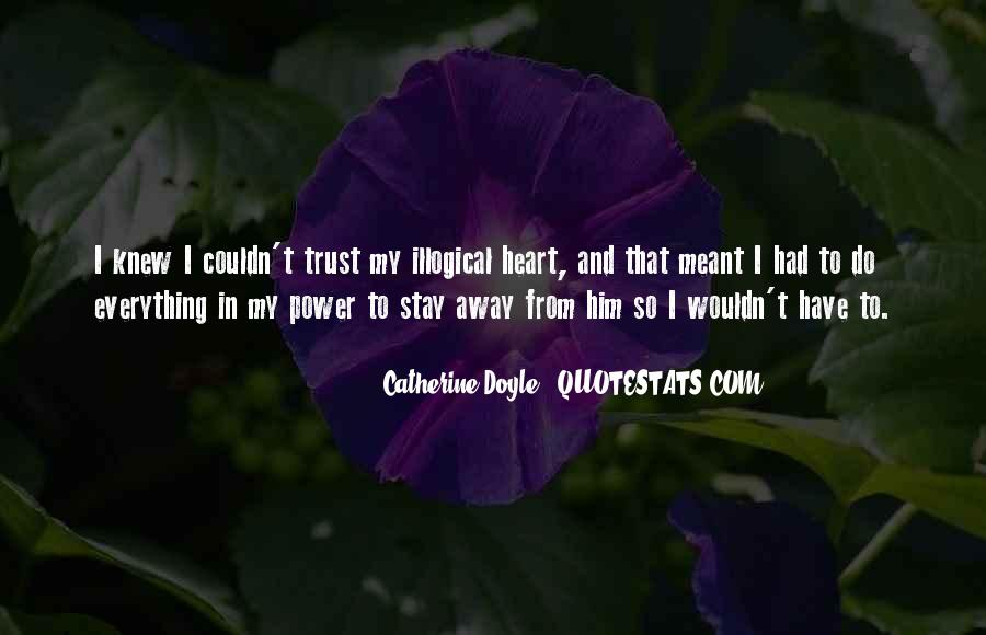Quotes About Illogical Love #177611