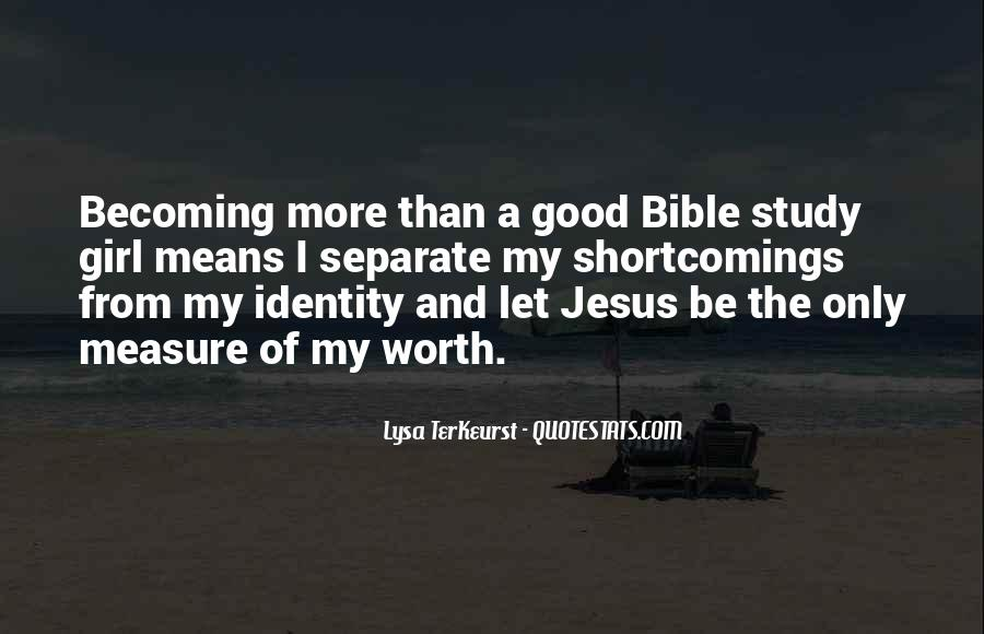 Quotes About Self Worth In The Bible #238866
