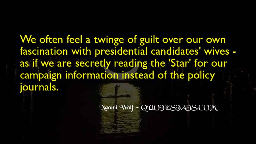 Quotes About Presidential Candidates #415147