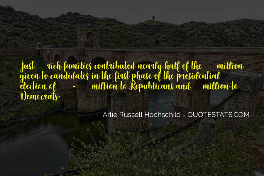 Quotes About Presidential Candidates #532359