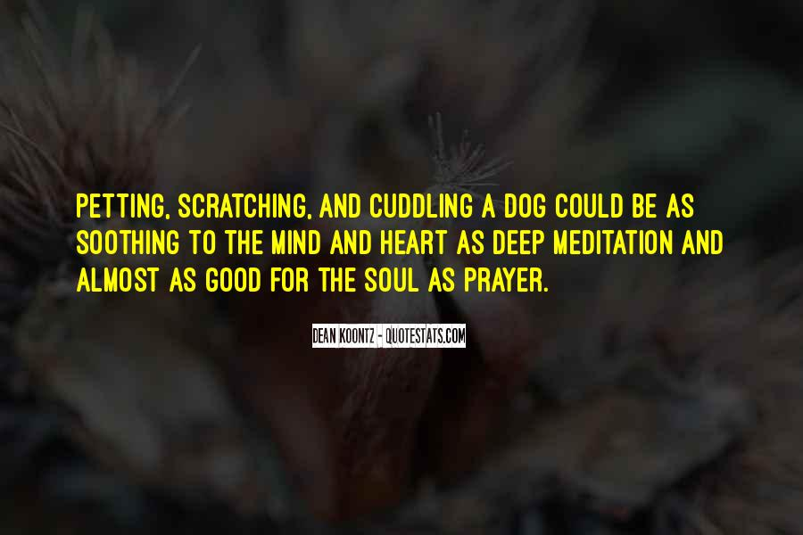 Quotes About Soothing The Soul #1239669