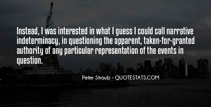 Quotes About Not Questioning Authority #535950