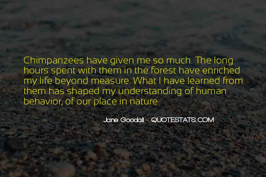 Quotes About Learned Behavior #1015212