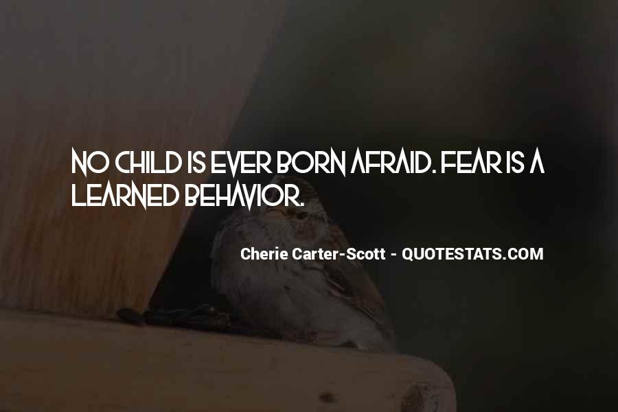 Quotes About Learned Behavior #202479