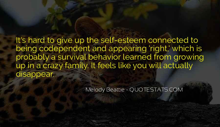 Quotes About Learned Behavior #300066