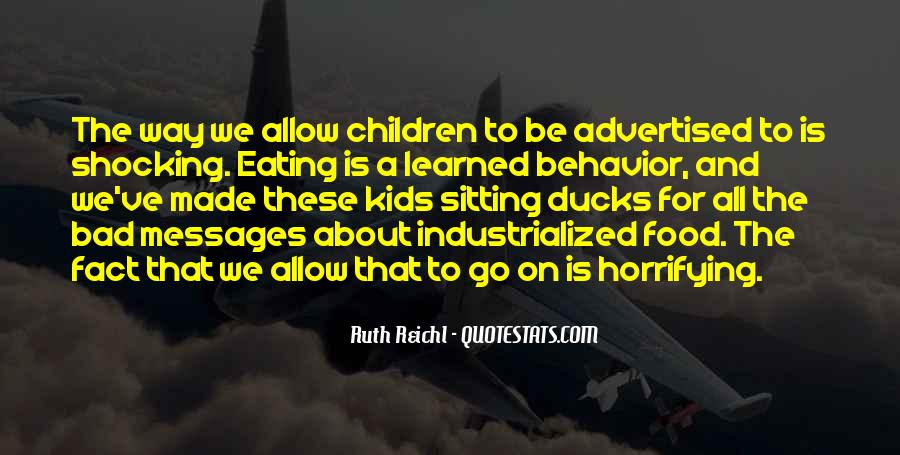Quotes About Learned Behavior #955400
