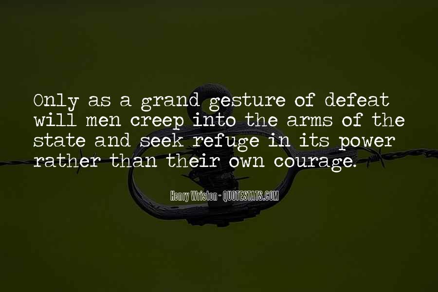 Quotes About Defeat And Courage #1024326