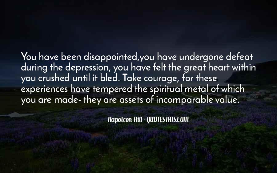 Quotes About Defeat And Courage #1385472