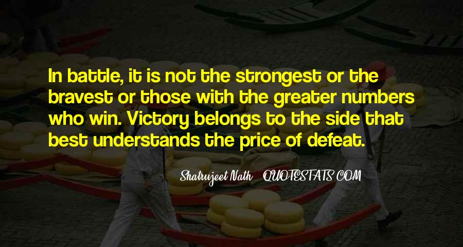 Quotes About Defeat And Courage #148193