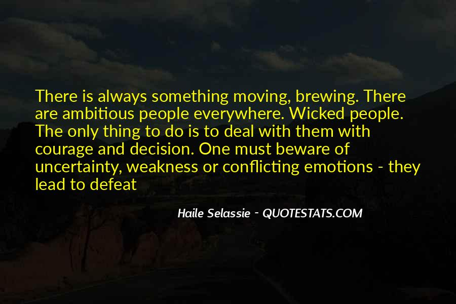 Quotes About Defeat And Courage #17229
