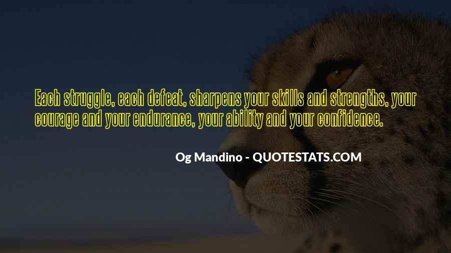 Quotes About Defeat And Courage #249091