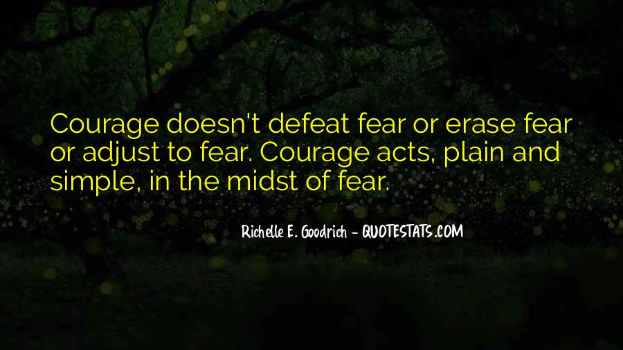 Quotes About Defeat And Courage #739549