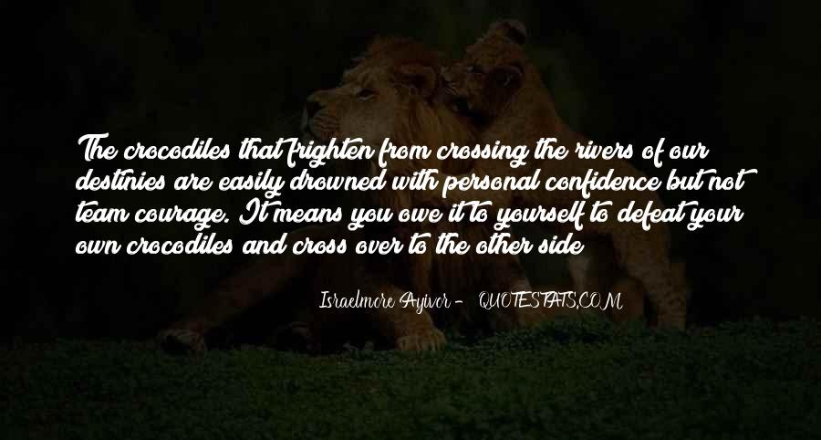 Quotes About Defeat And Courage #767532