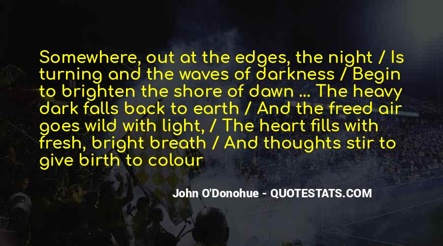 Quotes About Darkness Turning Into Light #1859233