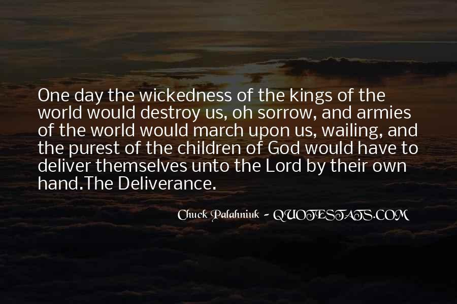 Quotes About Wickedness #112217