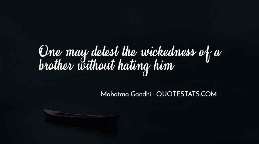 Quotes About Wickedness #115015