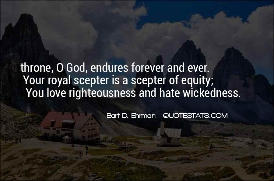 Quotes About Wickedness #229771