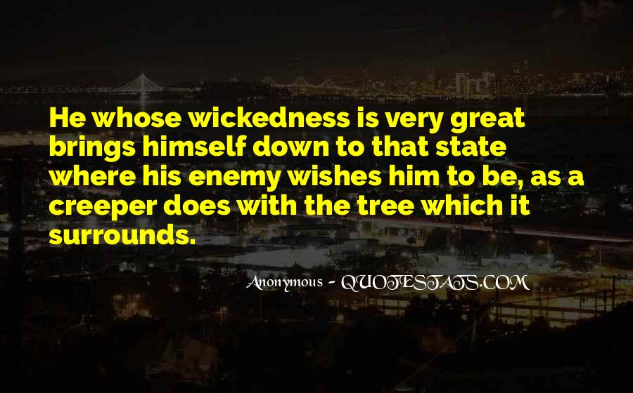 Quotes About Wickedness #300320