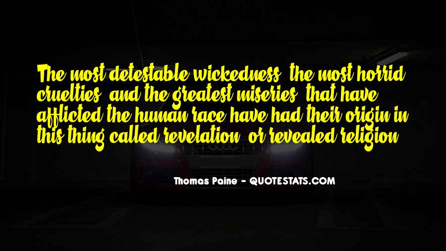 Quotes About Wickedness #40072